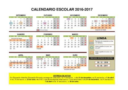 calendario-escolar do curso 2016-17